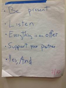 Facilitation Rules Photo